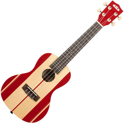 Kala Surf Series Concert Ukulele with Surf's Up Design