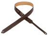 "Levy's Leathers 1½"" Leather Guitar Strap M70-DBR"