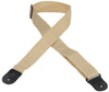 "Levy's 2"" Polypropylene Guitar Strap M8POLY-TAN"