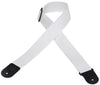 "Levy's 2"" Polypropylene Guitar Strap M8POLY-WHT"