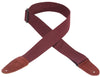 "Levy's Leathers 2"" Cotton Guitar Strap MC8-BRG"