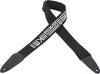"Levy's Mayan Series 2"" Black Cotton Guitar Strap"