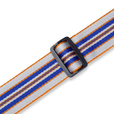 "Levy's 'Skyline Stripe' 2"" Woven Polyester Guitar Strap MC8VIN-005"