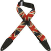 "Levy's 2"" Polyester Guitar Strap MDP-UK"