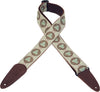 "Levy's Dakota Series 2"" Woven Guitar Strap MGJ-002"