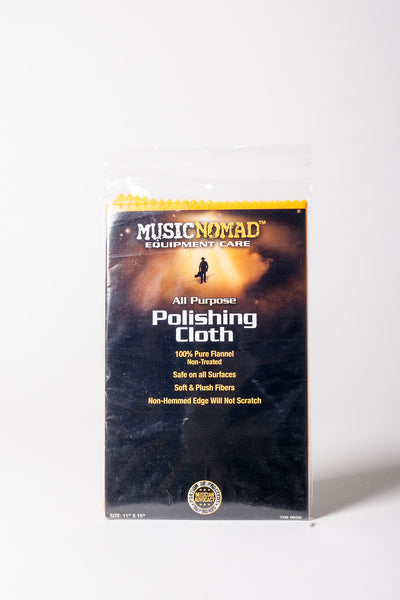 Music Nomad MN200 All Purpose Edgeless 100% Pure Flannel Non-Treated Polishing Cloth