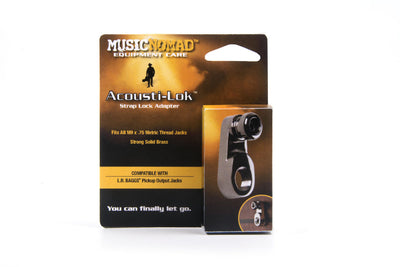Music Nomad Acousti-Lok Strap Lock Adapter for Metric Output Jacks MN271