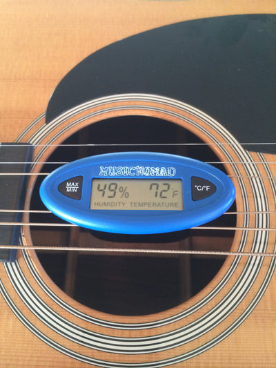 Music Nomad The HumiReader - Humidity & Temperature Monitor MN305