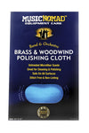 Music Nomad MN730 Brass & Woodwind Untreated Microfiber Polishing Cloth