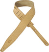 "Levy's Diego Series 2 1/2"" Nubuck Leather Strap  MNU317-TAN"