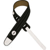 "Levy's 2 1/2"" Canvas Guitar Strap MRE1CAR-BLK"