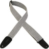 "Levy's 2"" Tweed Guitar Strap MT8-WHT"