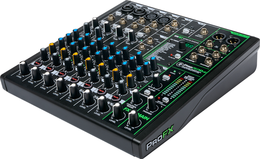 Mackie ProFX10v3 10 Channel Professional Mixer With USB