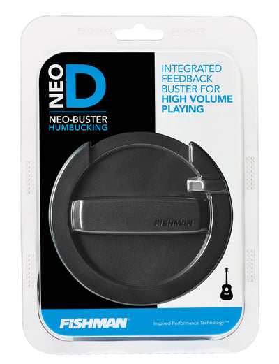 Fishman Neo-Buster Humbucking Soundhole Pickup & Feedback Buster