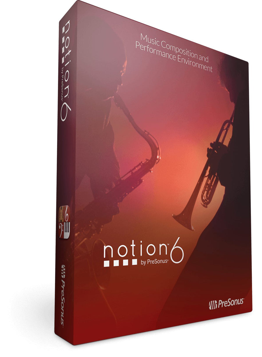 PreSonus Notion 6 Music Writing and Composition Software (Digital Download)