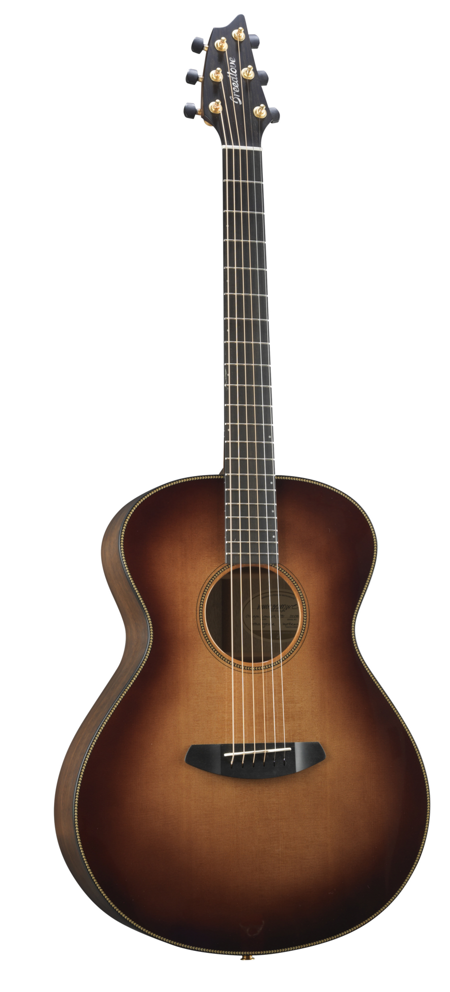 Breedlove Oregon Concert Whiskey Burst E