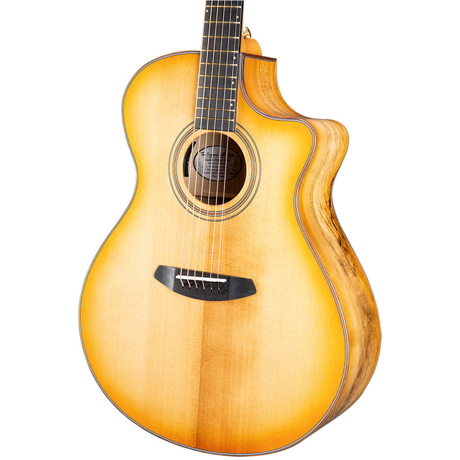 Breedlove Organic Series Artista Concerto CE All Solid Torrefied European Spruce/Myrtlewood Acoustic Electric Guitar