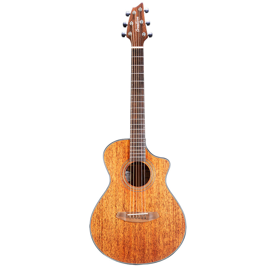 Breedlove Organic Series Wildwood Companion CE All Solid African Mahogany Acoustic Electric Guitar