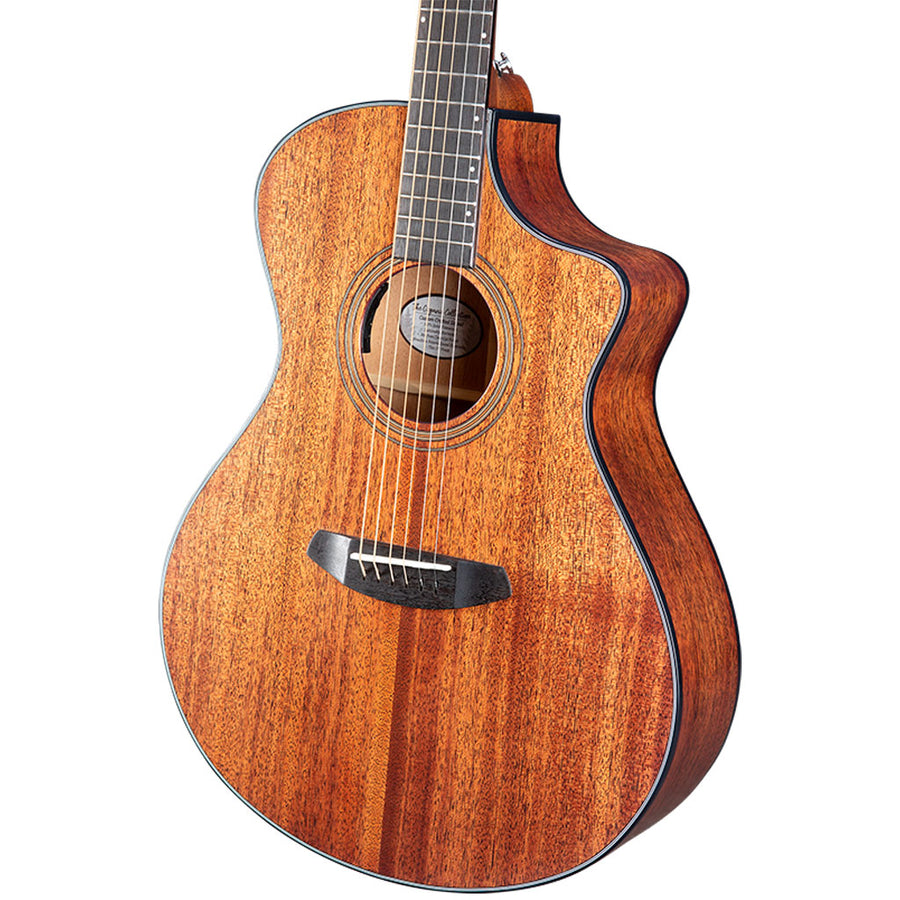 Breedlove Organic Series Wildwood Concert CE All Solid African Mahogany Acoustic Electric Guitar
