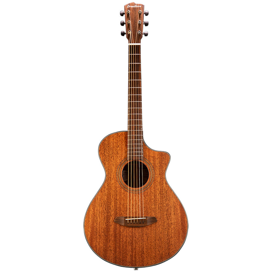 Breedlove Organic Series Wildwood Concertina CE All Solid African Mahogany Acoustic Electric Guitar