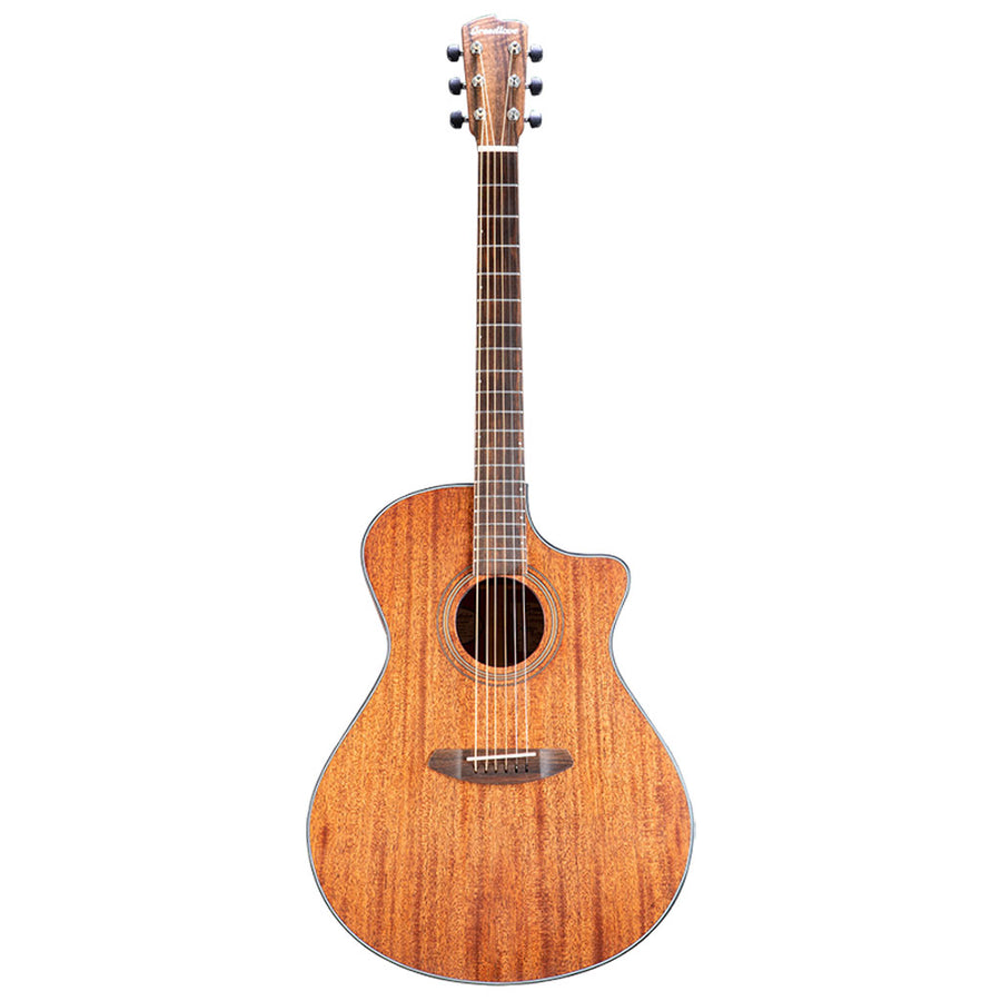 Breedlove Organic Series Wildwood Concerto CE All Solid African Mahogany Acoustic Electric Guitar