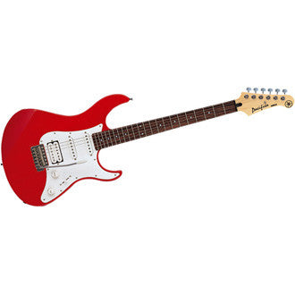 Yamaha PAC112J Metallic Red Double Cutaway Electric Guitar