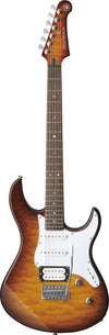 Yamaha Pacifica PAC212VQM Tobacco Burst Quilted Maple Top Electric Guitar - FINAL SALE -