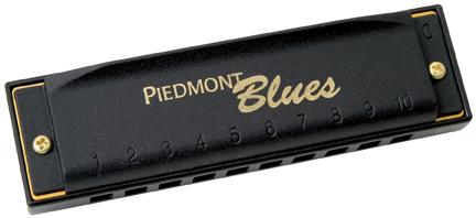 Hohner Piedmont Blues 7 Pack Harmonica Set (A, Bb, C, D, E, F, G)