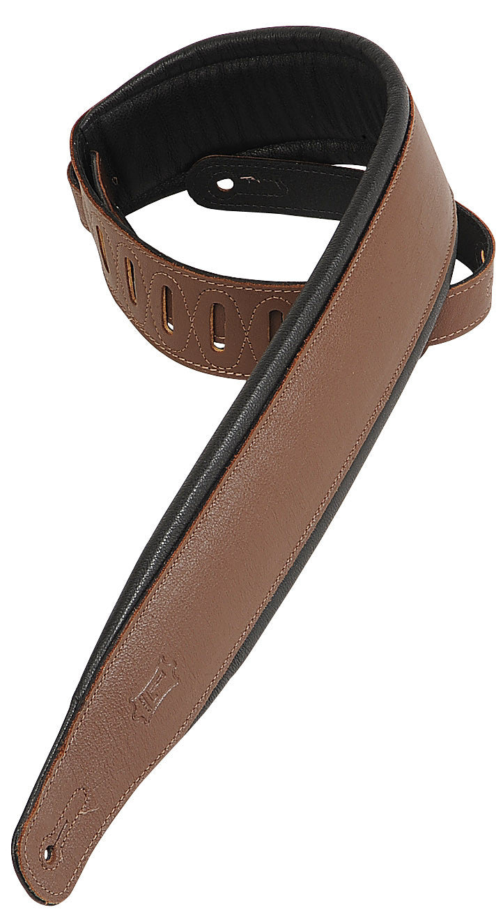 Levy's Classic Padded Strap PM32-BRN