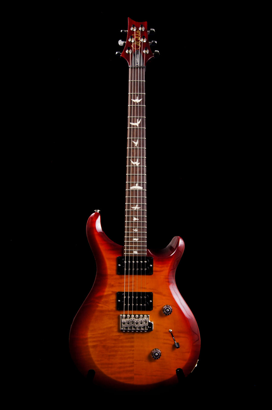 Paul Reed Smith S2 Custom 24 Dark Cherry Sunburst