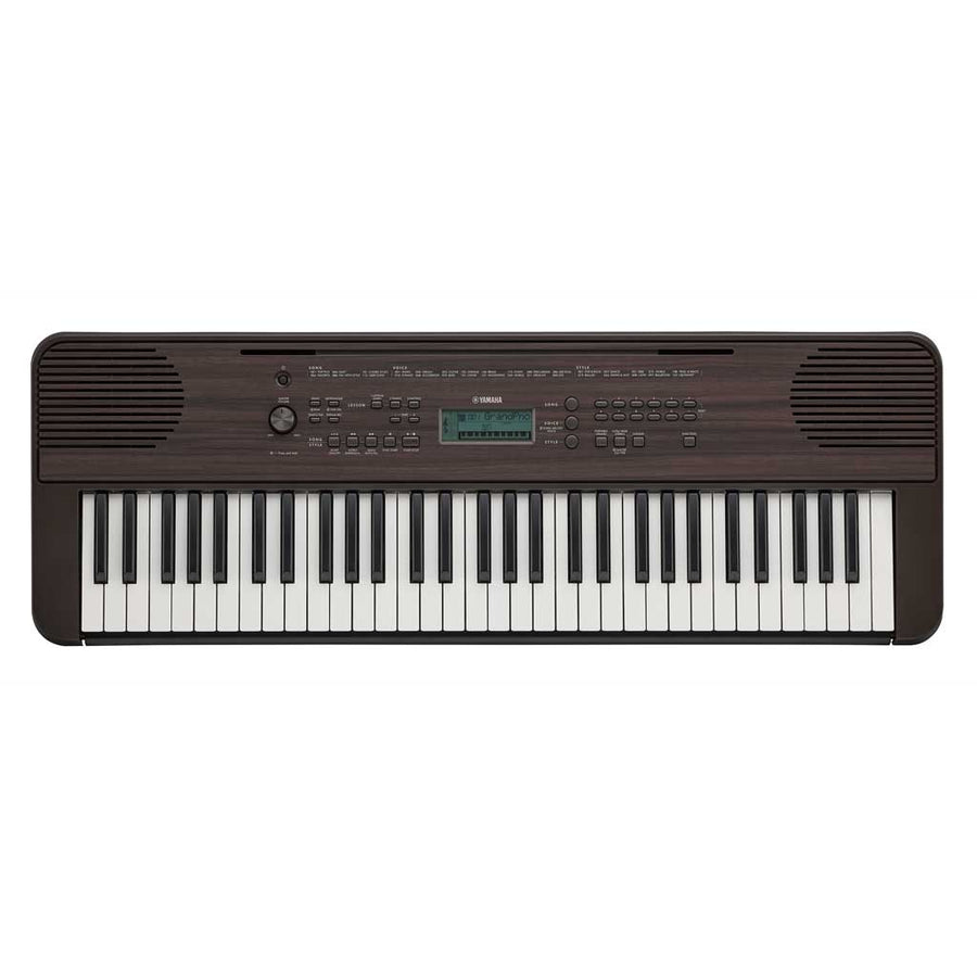 Yamaha PSRE360DW 61-Key Portable Keyboard - Dark Walnut