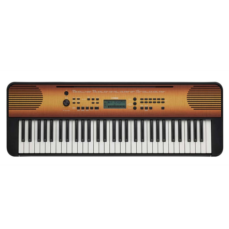 Yamaha PSRE360MA 61-Key Portable Keyboard - Maple
