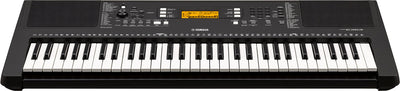 Yamaha PSRE363 61 Key Portable Keyboard w/Survival Kit