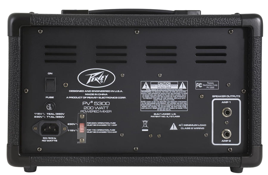 Peavey PV5300 200 Watt Powered Mixer