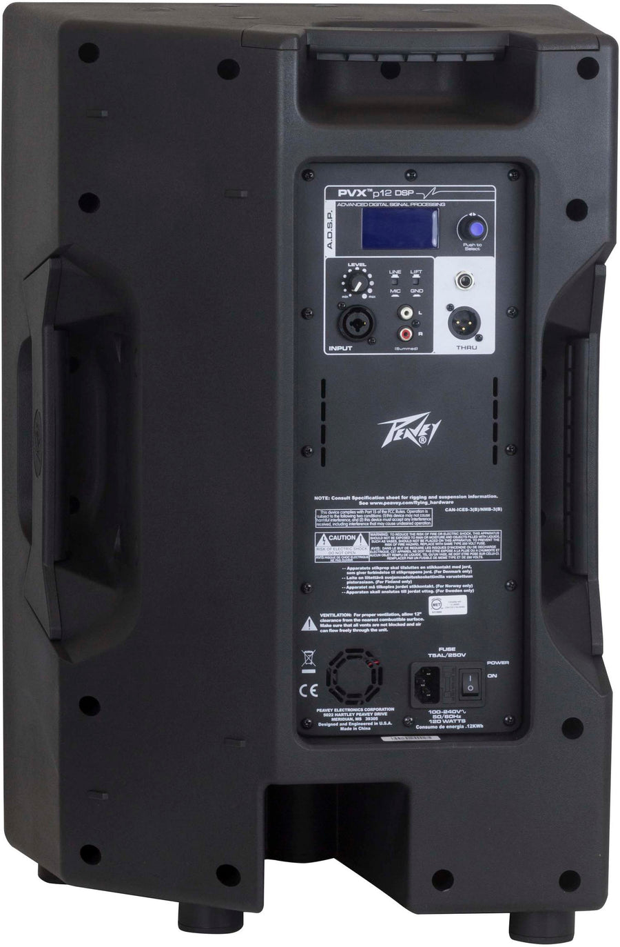"Peavey PVX Series 12"" Powered Speaker w/DSP"