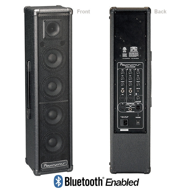 Powerwerks 100 Watt Personal PA Speaker w/Bluetooth PW100BT - FINAL SALE -