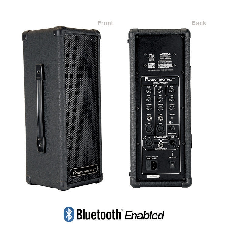 Powerwerks 50 Watt Personal PA System with Bluetooth PW50BT