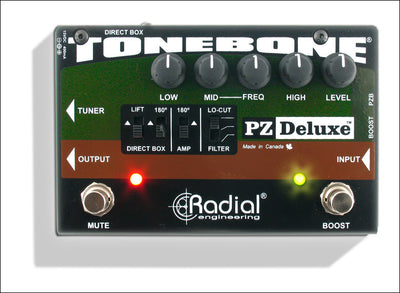 Radial Engineering Tonebone PZ-Deluxe Acoustic Preamp R800 7320 00