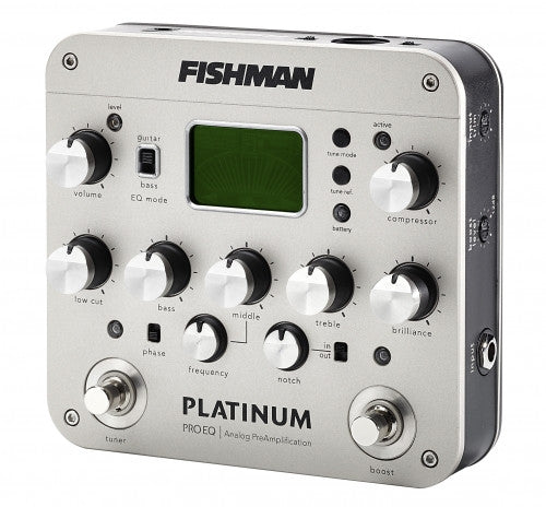Fishman Platinum Pro EQ Analog Preamp and DI