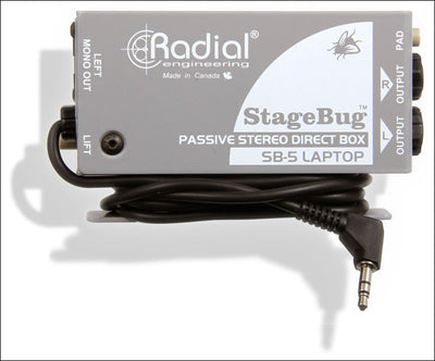 Radial Engineering Stagebug SB-5 Laptop DI