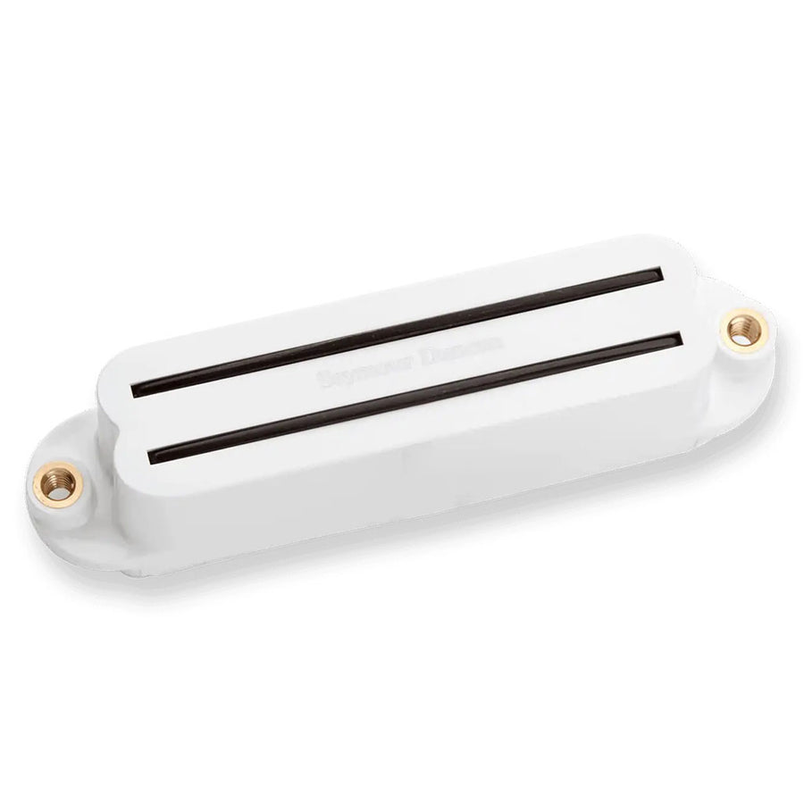 Seymour Duncan SHR-1b Hot Rails for Strat Bridge Pickup in White