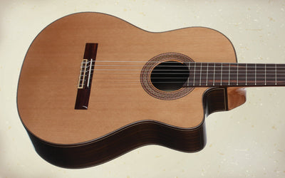Teton STC155CENT Acoustic Electric Classical Guitar
