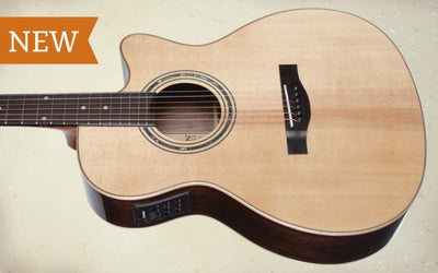 Teton STG180CENT Grand Concert Acoustic Guitar