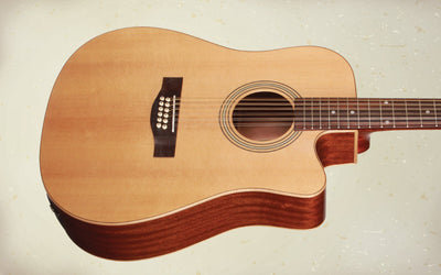 Teton STS100CENT-12 Dreadnought 12 String Acoustic Electric Guitar