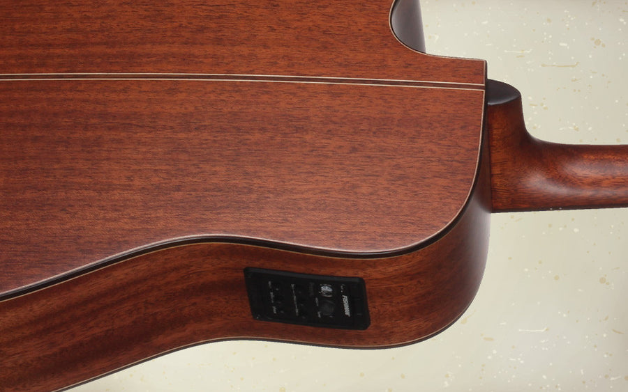 Teton STS205CENT Dreadnought Acoustic Electric Guitar