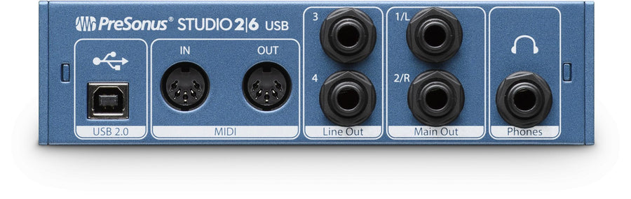 PreSonus Studio 26 USB 2.0 Audio Interface