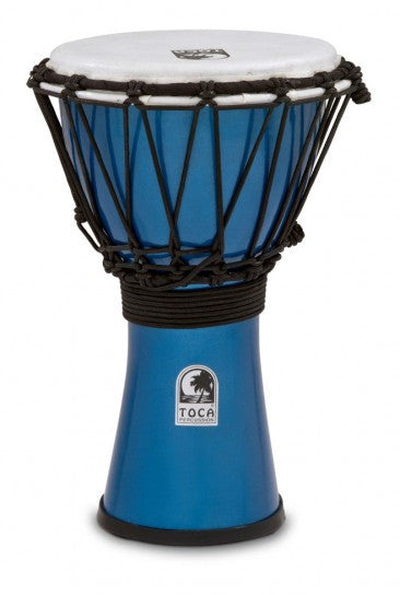 "Toca TFCDJ-7MB Freestyle Colorsound 7"" Djembe Metallic Blue"