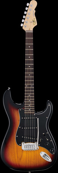 G&L Tribute Series Legacy - 3 Tone Sunburst - FINAL SALE -