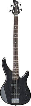 Yamaha TRBX174EW Trans Black 4 String Bass Guitar w/Flame Mango Top