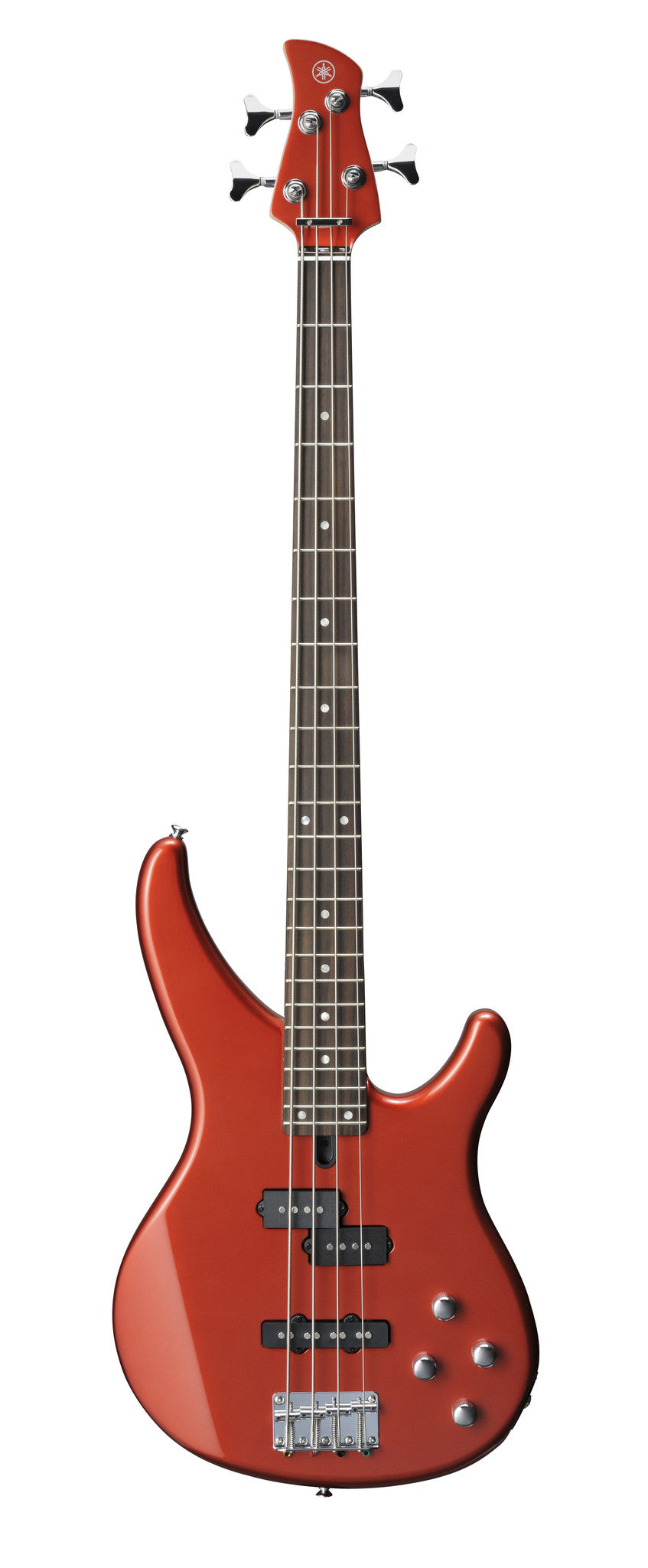 Yamaha TRBX204 4-String Bass Guitar Bright Red Metallic